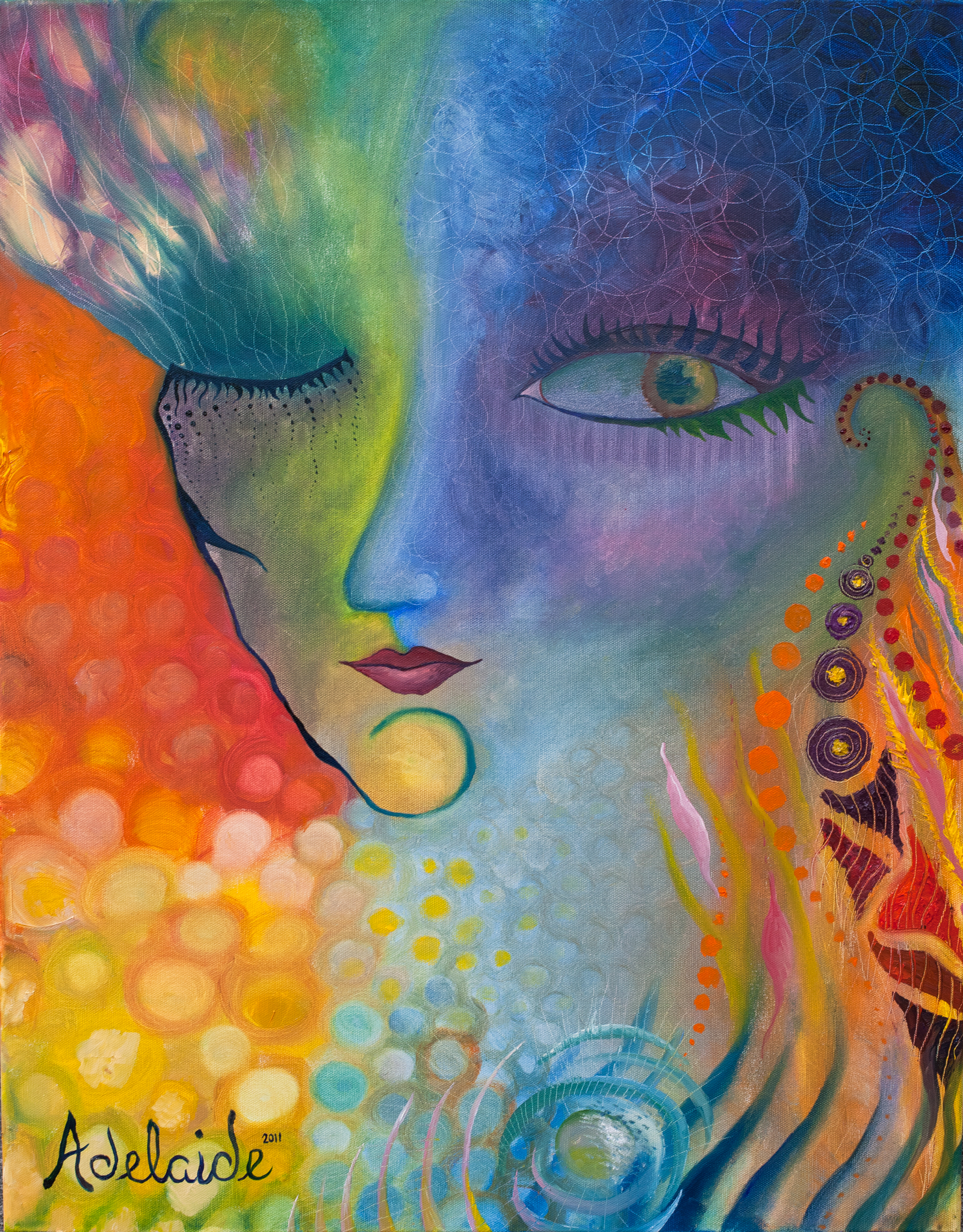 Art By Adelaide -- Adelaide Marcus- Visionary Artist