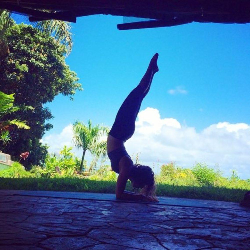 Ashley Grashamour  - Yoga at Lumeria Maui